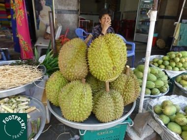 Vietnam reizen - Vietnam - Durians; het fruit dat 'smells like hell and tastes like heaven', Can Tho