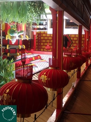 Indonesië reizen - Chinese tempel in Malang