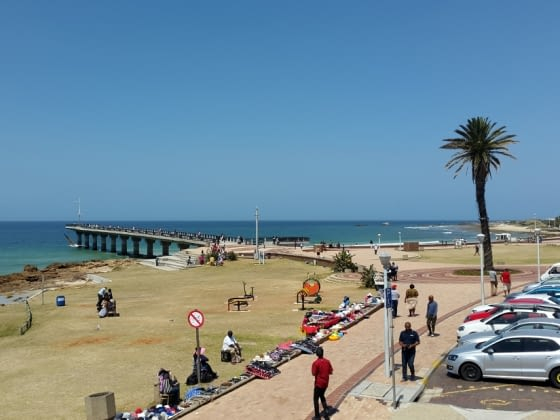 Aankomst in Port Elizabeth, the Friendly City