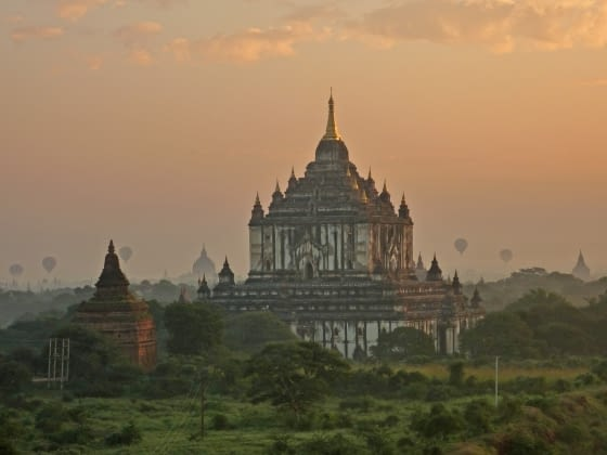 Varen naar magisch Bagan (oktober-april)