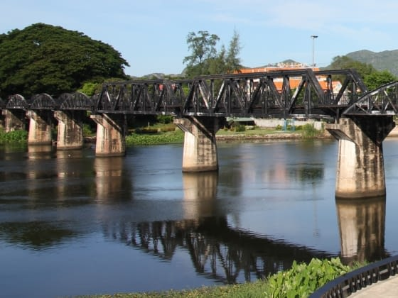 Hoogtepunt: Kanchanaburi, Bridge over River Kwai