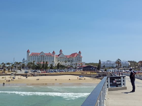 Vertrek vanuit vliegveld Port Elizabeth, the Friendly City
